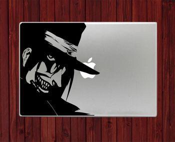 Alucard Hellsing Macbook Pro Air 13 Decal Stickers Laptop Decal Vinyl Sticker Macbook