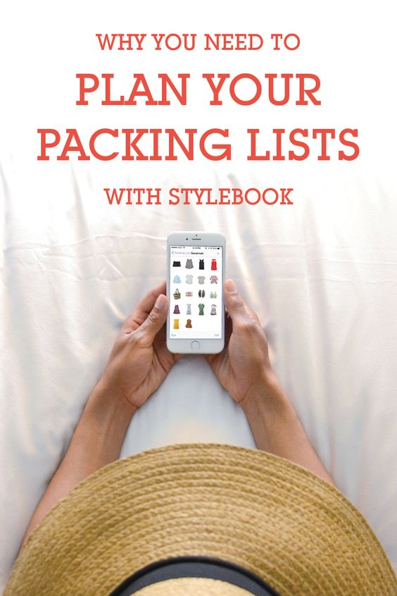 How To Pack With Stylebook | Summer, Style and App