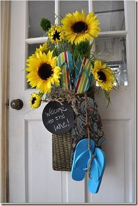 summer door decorations