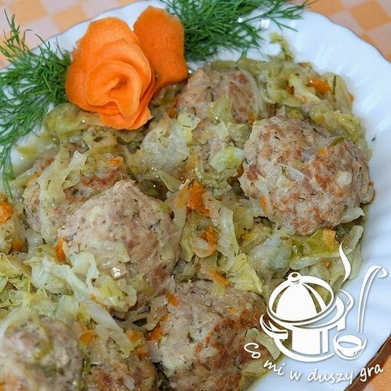 Co Mi W Duszy Gra Klopsiki W Mlodej Kapuscie Cooking Recipes Meatball Dishes Food