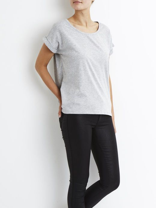 VIDREAMERS - T-SHIRT, Light Grey Melange