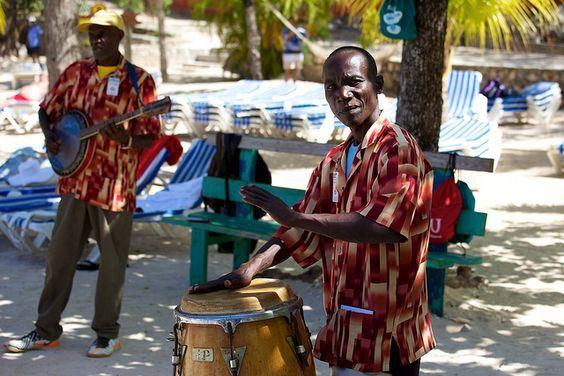 Haitian music / band at Labadee Haiti