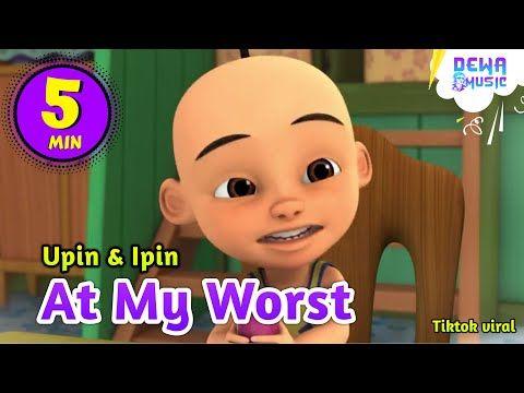 At My Worst Versi Upin Ipin Feat Bear Music Band Dewamusic Youtube Di 2021 Band Youtube Musik