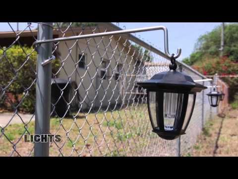 Youtube Chain Link Fence Backyard Fences Diy Fence