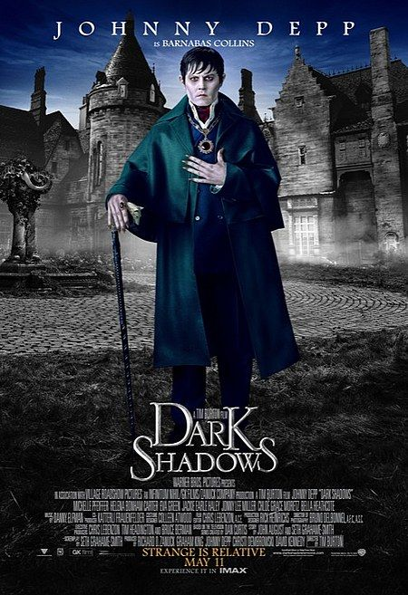 Johnny Deep en Dark Shadows