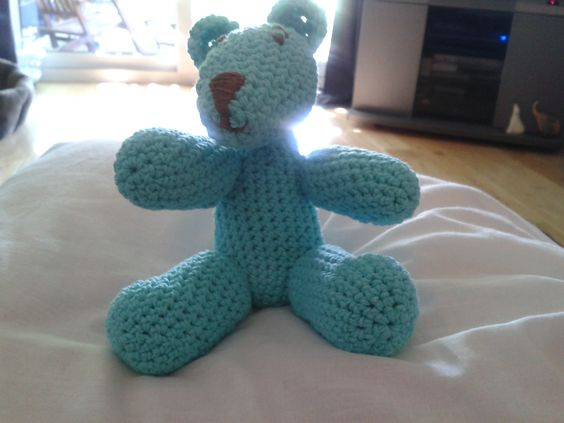 Bluey Bear  (Crochet)