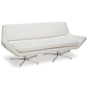"Amazon.com - Yield 72"" Love Seat, White"
