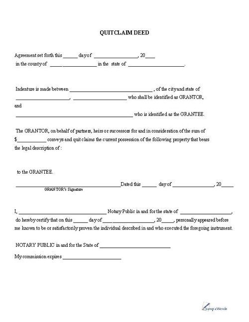 Pin By Vbriggs On Mary Quitclaim Deed Templates Printable Free