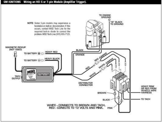 Gm Hei Distributor Wiring Schematic Diagram Wire Coil