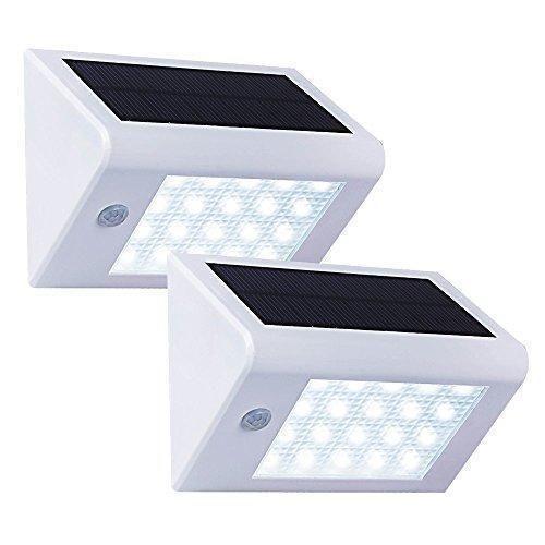 Oferta 26 99 Dto 52 Comprar Ofertas De T Sun Solar Lampara De Pared Para Exteriores 2 Unidades 20 Leds Sola Lampara De Pared Sensores De Movimiento Pared