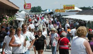 Shipshewana Flea Market -- An annual tradition for 40 years.  So many trasures