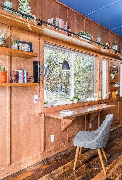 20 Modern Cool Tiny Home Office Ideas Tiny Home Office Tiny