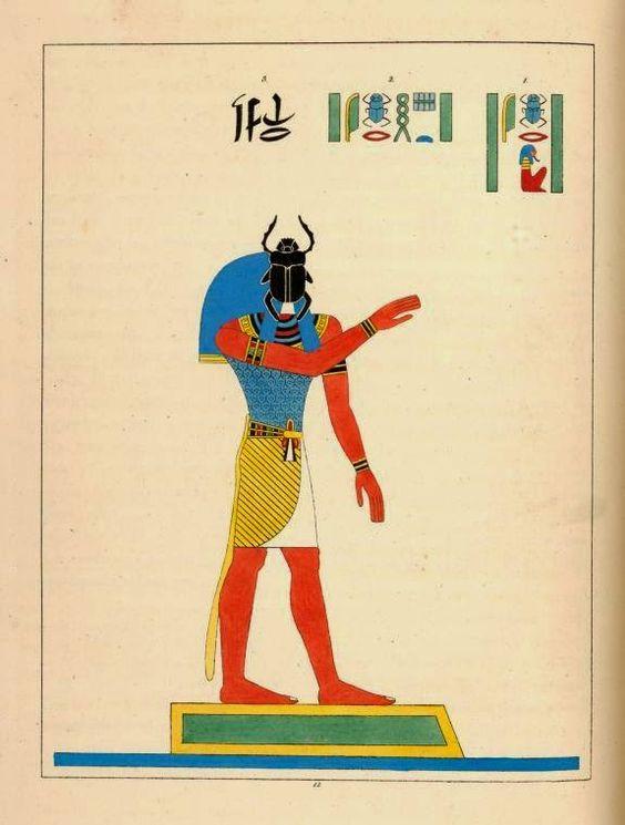 Imagenes de Egipto: Ilustraciones de Léon-Jean-Joseph Dubois.