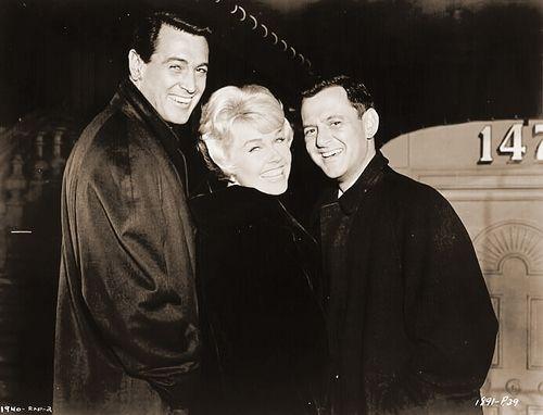 """Rock Hudson, Doris Day and Tony Randall.  Love Tony Randall in """"Pillow Talk""""."""