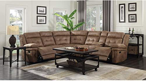 New Greyson Living Ainsley 3pc Reclining Sectional Online Shopping