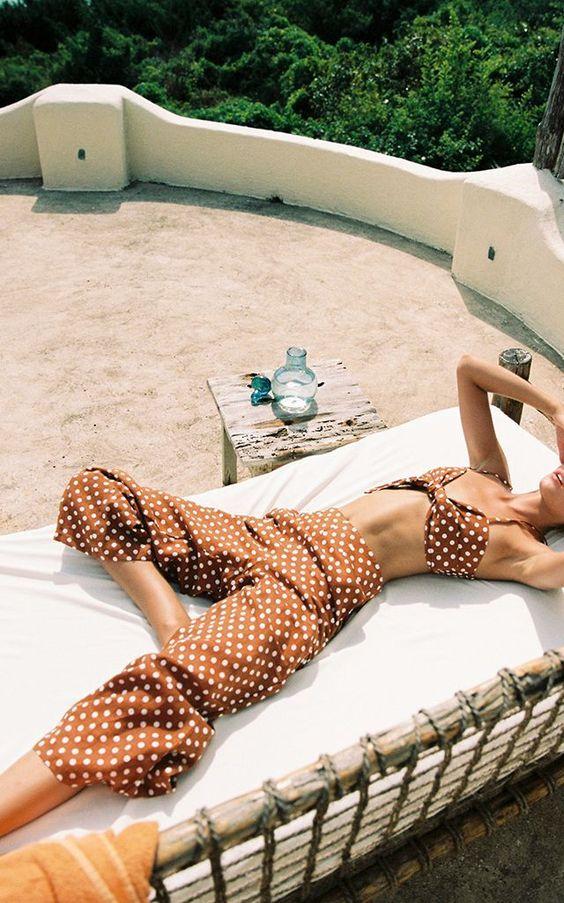 Polka Dot Tomas Cropped Pant by Faithfull | Moda Operandi #fashion #style #clothes #ootd #fashionblogger #streetstyle #styleblogger #styleinspiration #whatiworetoday #mylook #todaysoutfit #lookbook #fashionaddict #clothesintrigue