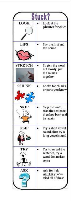 """""""Reading Strategy"""" bookmarks!"""