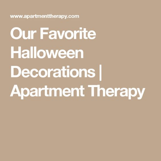 Our Favorite Halloween Decorations | Apartment Therapy