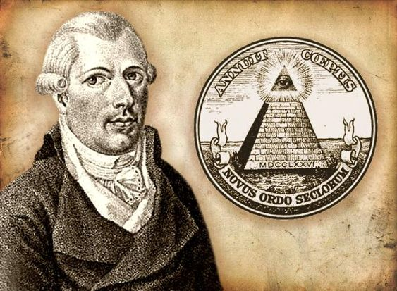 Adam Weishaupt was the founder of the Bavarian Illuminati, a professor of Law and practical Philosophy. Description from absoluteempowerment.com. I searched for this on bing.com/images