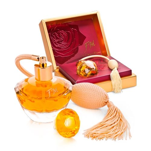 A beautiful perfume gift