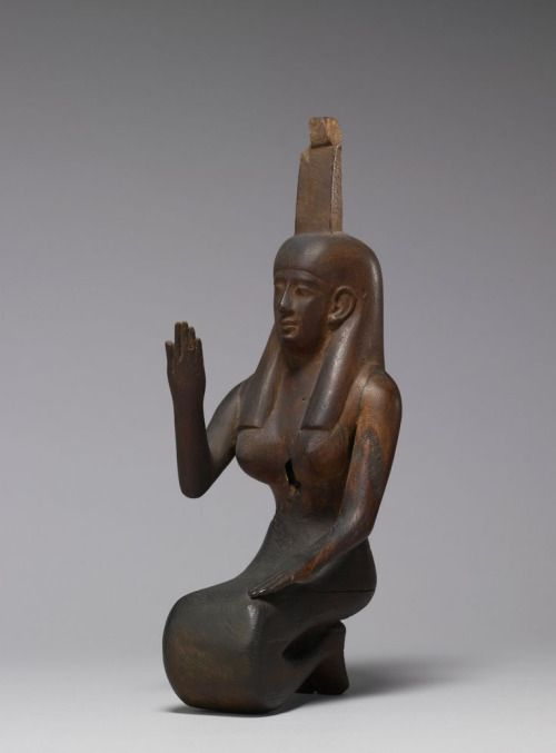 Statue of Nephthys - ca. 250-145 BC (Greco-Roman) Egypt. The...