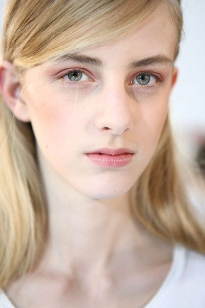 Andrew Gn at Paris Spring 2016. http://adventuresfortwo.com/ #makeup #beauty #runway #backstage
