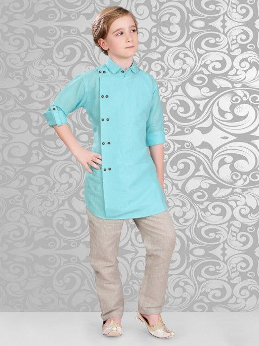 Shop Sea green color silk festive wear kurta suit online from G3fashion India. Brand - G3, Product code - G3-BKS0333, Price - 2699, Color - Green, Fabric - Cotton,