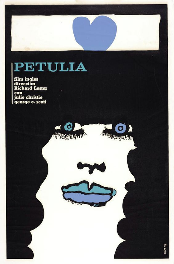 Eduardo Muñoz Bachs / Petulia poster