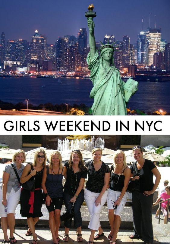 Girls weekend getaway in nyc new york girls and in new york for Weekend getaways in new york