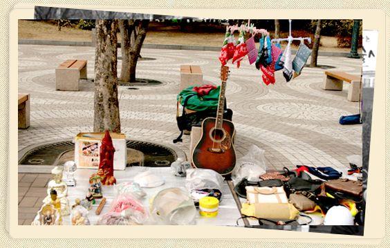 Chợ trời Gwanghwamun Ảnh: visitkorea.org