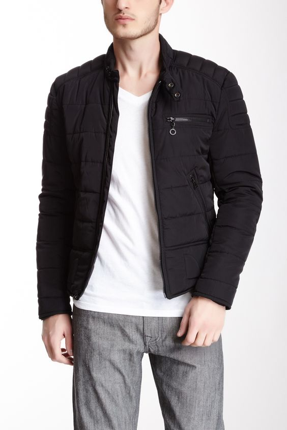 Nightshade Quilted Jacket