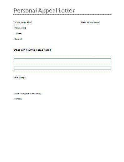 Business appeal letter a letter of appeal should be written in a business appeal letter a letter of appeal should be written in a professional business letter format sample appeal letters pinterest spiritdancerdesigns Images
