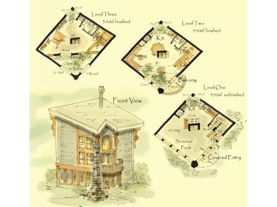 Tiny House Plan Sencillo