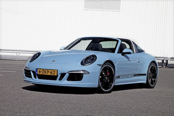 ポルシェ、「911タルガ」誕生50周年を記念したオランダ限定特別モデルを発表!