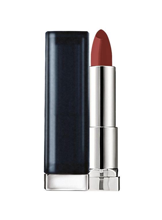 gemey maybelline rouge lvres color sensationnel stick mattes 975 divine wine - Baume Lvre Color