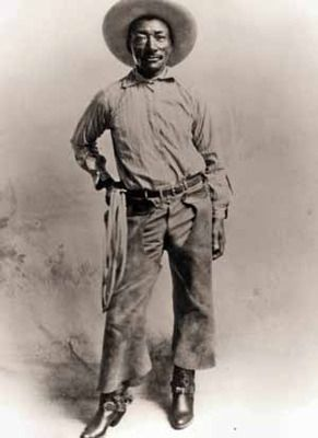 Today in Black History, 4/2/2013 - In 1971, Bill Pickett became the first black inductee into the National Cowboy Hall of Fame. (Photo: http://freemaninstitute.com/meadersPBS.htm) For more info, check out today's notes!