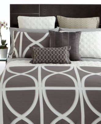 Hotel Collection Bedding, Transom Charcoal Collection -love this!