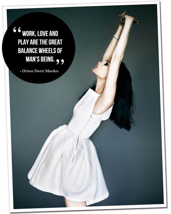 The great balance.