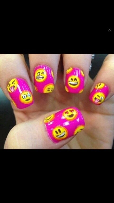 147 best nails hand foot beautiful jewelry images on pinterest tips for emoji nail art prinsesfo Choice Image