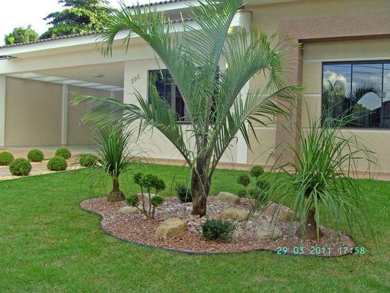Modelos de jardins residenciais para frente de casa for Jardines residenciales