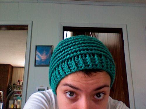 Spirals, Beanie and Free crochet hat patterns on Pinterest