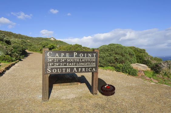 #caking at Cape Point, the southern most point in Africa.