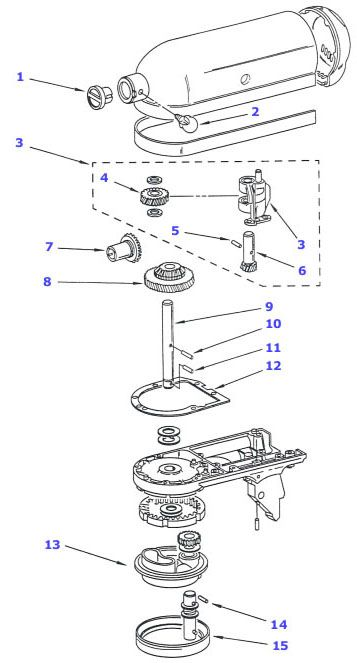 Could have used this last night fix your kitchenaid mixer misc pinterest kitchen aid - Kitchenaid artisan stand mixer parts ...