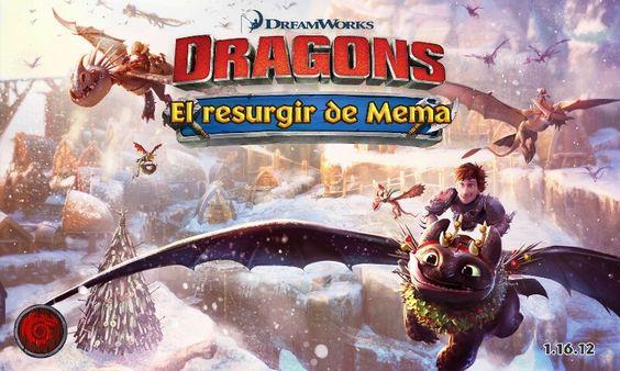 Dragones: El Resurgir De Mema. Imagen de actualización de Invierno 2015.