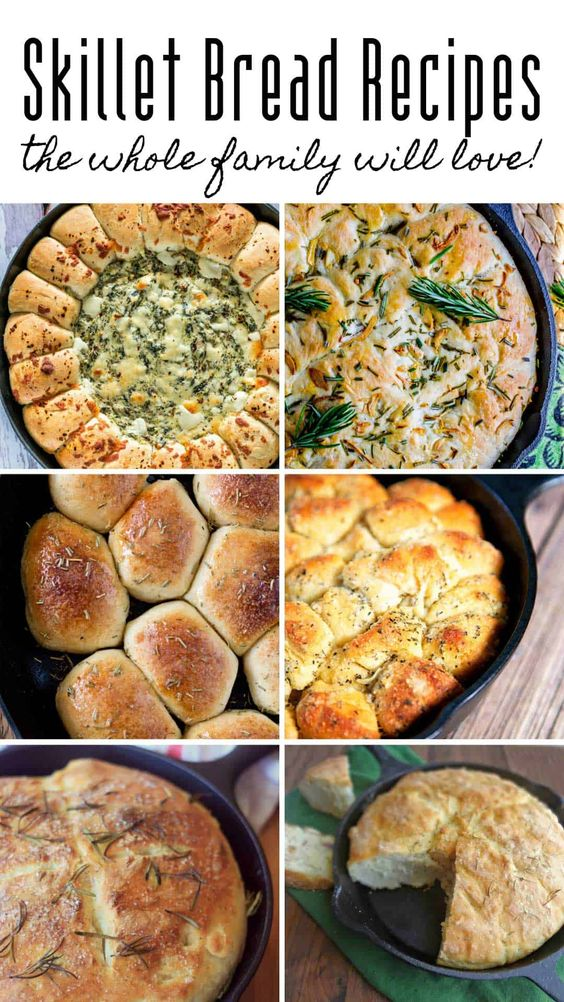 You'll Love these Cast Iron Skillet Bread Recipes (#4 will make you drool!)