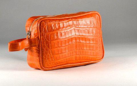 Crocodile Dobb/Travel Bag