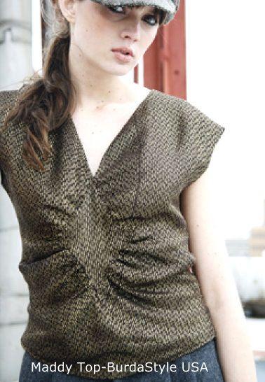 EL BAÚL DE LAS COSTURERAS: Patrones de blusas para descargar: