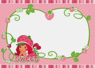 Is it for PARTIES Is it FREE Is it CUTE Has QUALITY It s HERE – Strawberry Shortcake Birthday Invitations