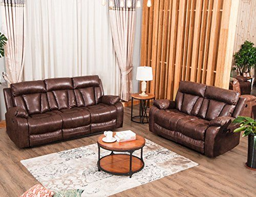 Harper Bright Designs Sectional Recliner Sofa Set Living Room Reclining Couch Loveseat 3 Sea Living Room Recliner Living Room Sofa Set Sofa And Loveseat Set