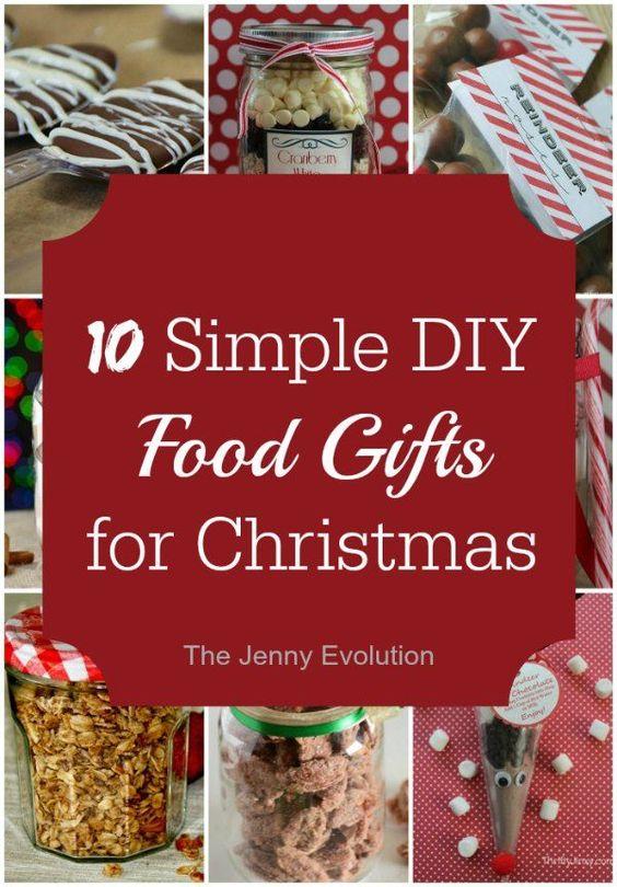 12 Easy DIY Food Gifts for Christmas Easy diy, The o\u0027jays and Food